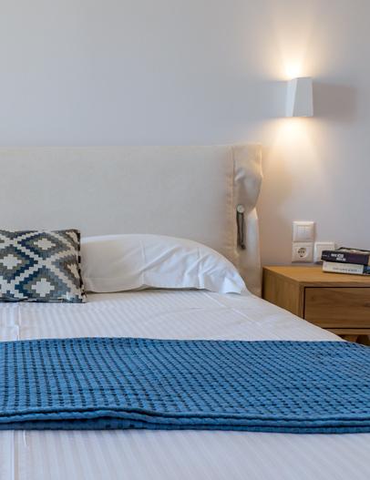 Milos Konstantinos Hotel | Family Room with Garden View | Rooms in Milos