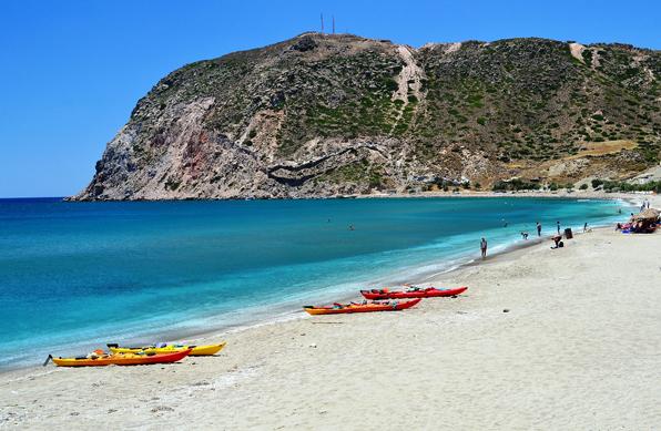 Hotel in Milos | Beaches of Milos | Agia Kyriaki Beach