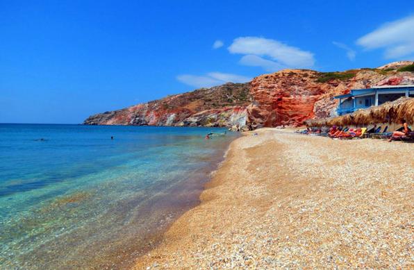Hotel in Milos | Beaches of Milos | Paliochori Beach