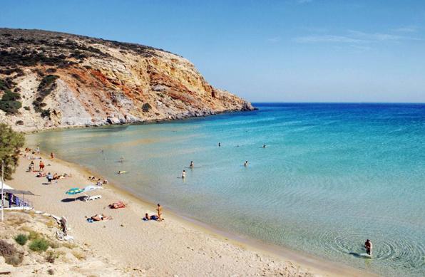 Hotel in Milos | Beaches of Milos | Provatas Beach