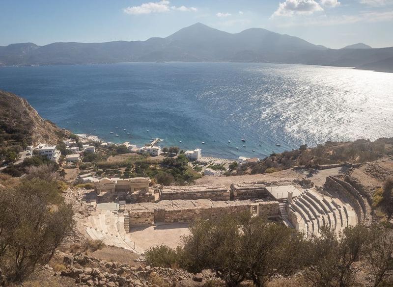 Milos Konstantinos Hotel | Hotel in Milos | Ancient Theatre of Milos Island