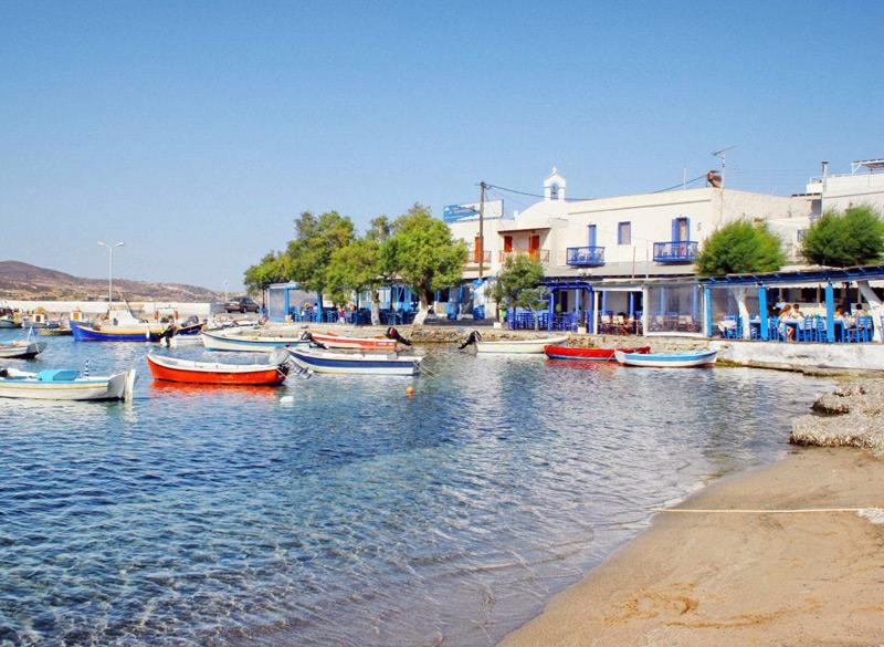 Hotel in Milos | Places of Milos | Pollonia